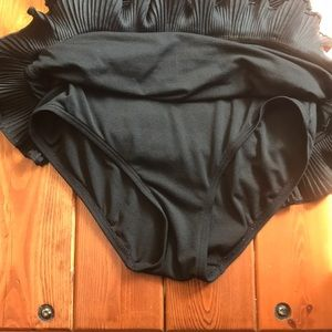 Juicy Couture Swim - Juicy couture black one piece size small